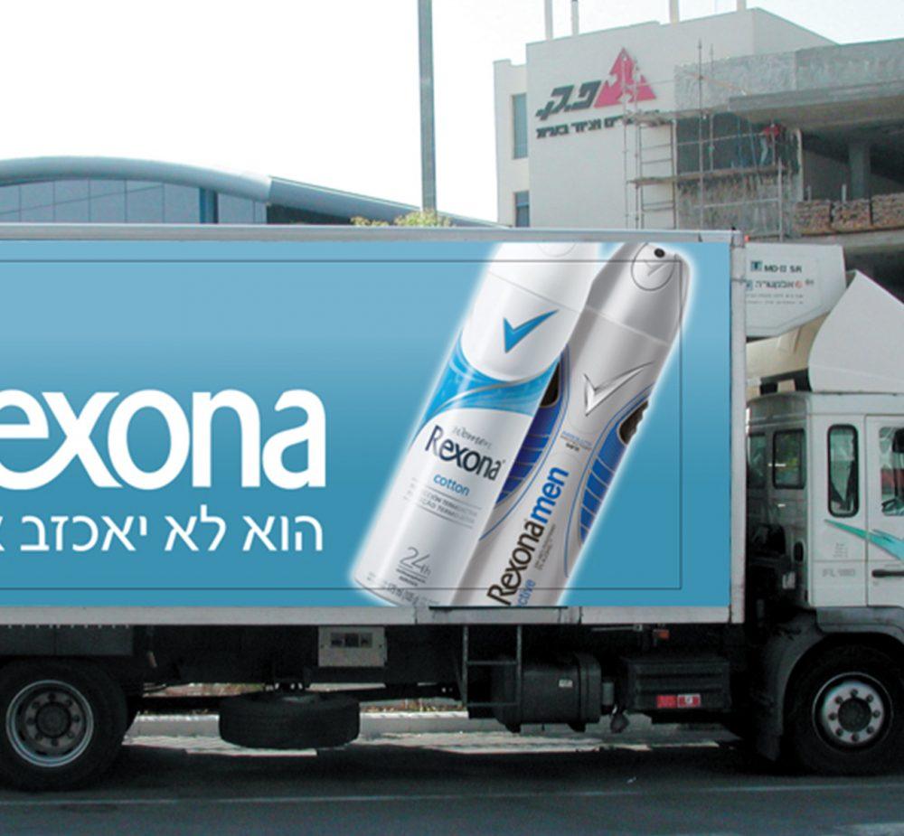 Rexona-truck